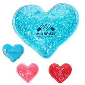 Customized Plush Heart Hot-Cold Pack