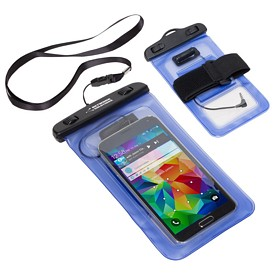 Promotional Waterproof Smart Phone Case With 35Mm Audio Jack