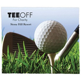 Promotional Premium Microfiber Cleaning Cloth Golf