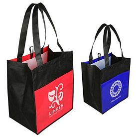 Promotional Glossy Light Shopping Bag