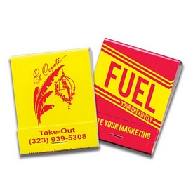 Promotional 20 Strike Yellow Board Red Ink Matchbooks