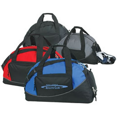 customized sports duffel bag with shoe compartment