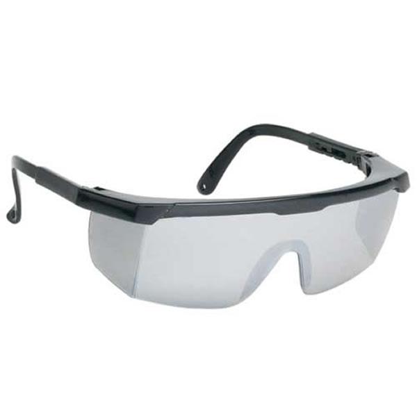 customized large smoke single lens safety glasses