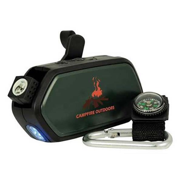 Customized 6-In-1 Dynamo Flashlight/Fire Starter ...