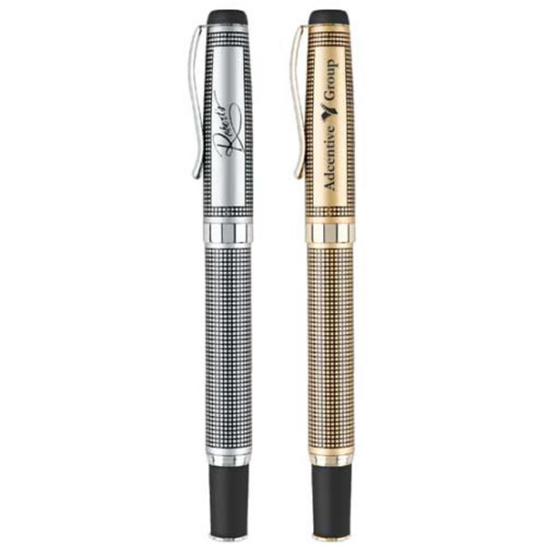 Customized Real Estate Agent Deluxe Metal Roller Ball Pen
