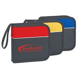 Promotional Two-Tone 24-Cd Holder