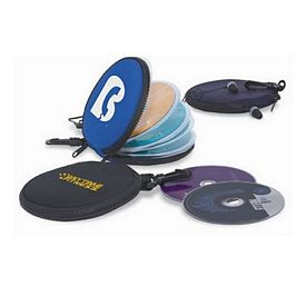 Promotional Round 12 Cd-Dvd Holder