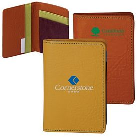 Customized Elegant Leather Business Card Holder