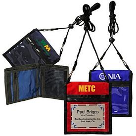 Promotional Deluxe Two-Way Badge Holder