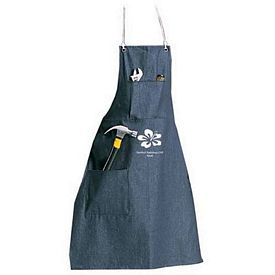 Custom Denim Apron With Two Pockets