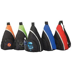 Customized Curve Sling Backpack