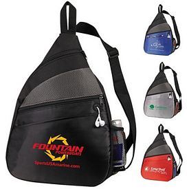 Promotional Padded Sling Backpack