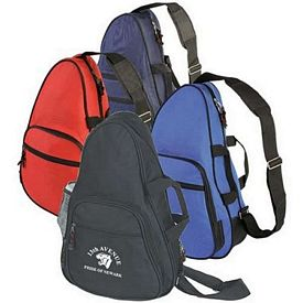 Promotional Personalized Sling Backpack With Handle