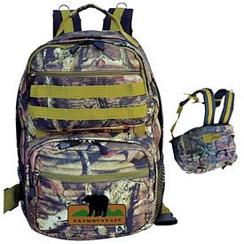 Customized Mossy Oak Camo Ultimate Outdoor Backpack
