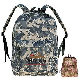 Promotional Classic Camo Backpack