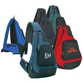 Promotional Plus Deluxe Sling Backpack