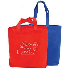 Custom Butler Non-Woven Trade Show Tote Bag