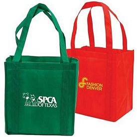 Customized Florist Non-Woven Shopping Tote Bag With Cardboard Bottom