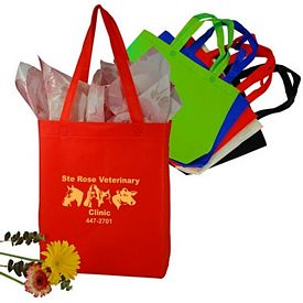 Custom Stitchless 80 Gm Polypropylene Shopping Tote Bag
