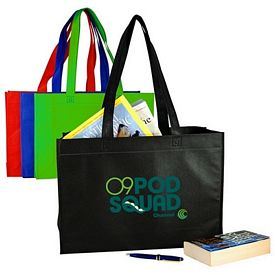 Promotional Full Gusset Nonwoven Tote Bag