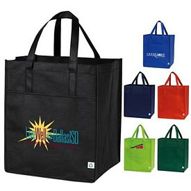 Custom Front Pocket Nonwoven Shopping Tote Bag