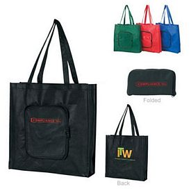 Promotional Nonwoven Foldable Tradeshow Tote Bag