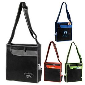 Promotional Event Messenger Shoulder Tote Bag