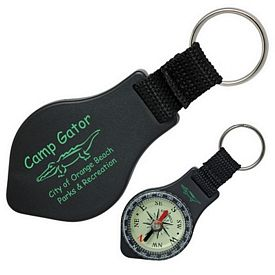 Customized Compact Compass With Key-Ring