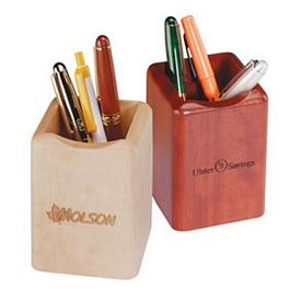 Promotional Wood Pen Holder