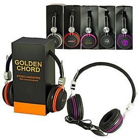 Promotional Overhead Studio-Grade Stereo Headphone With Mic
