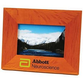 Promotional Wide-Border Wood 4X6 Picture Frame