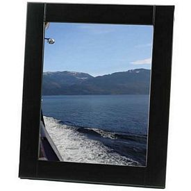 Promotional Medium-Border Black Wood 8X10 Picture Frame