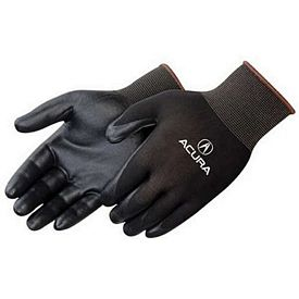 Promotional Ultra-Thin Black Nitrile Foam Palm Coated Black Knit Gloves