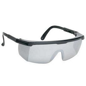 Customized Large Smoke Single-Lens Safety Glasses