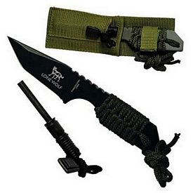 Customized 7 Fire Starter Hunting Knife