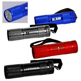 Customized 9-Led Handy Flashlight