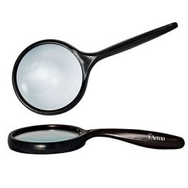 Custom 33X Bent Handle Hand Held Magnifier 25 Lens