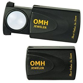Promotional 10X Illuminated Sliding Loupe