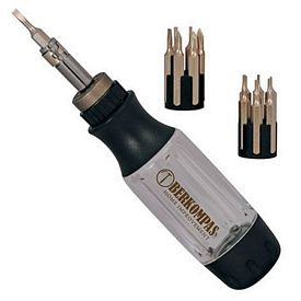 Customized 12-In-1 Ratchet Screwdriver Set