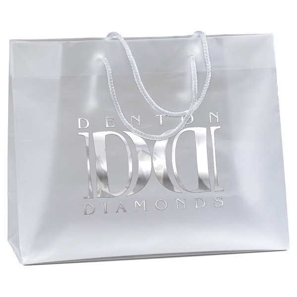878fbdd2830c Promotional Scorpio Frosted Euro Plastic Bag  36HDE1310