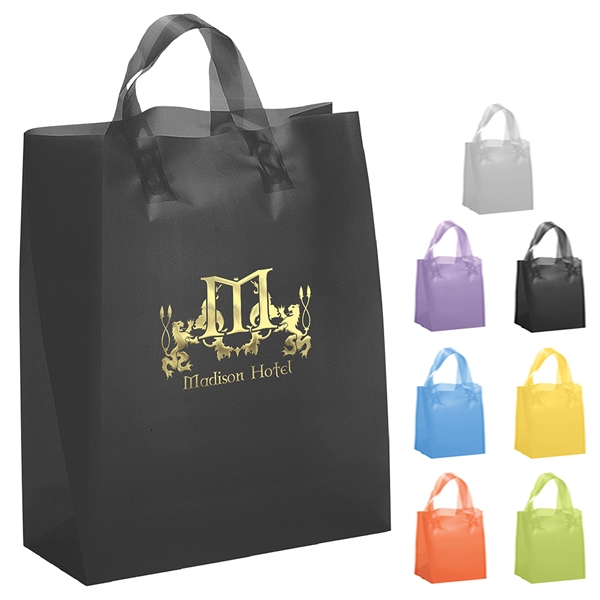 Promotional Gift Bags. Wrap up the deal with promotional gift bags that add the perfect finishing touch to your campaign, sale or event. HALO's selection of gift bags range in materials and size so you can get the perfect bag for your marketing needs.