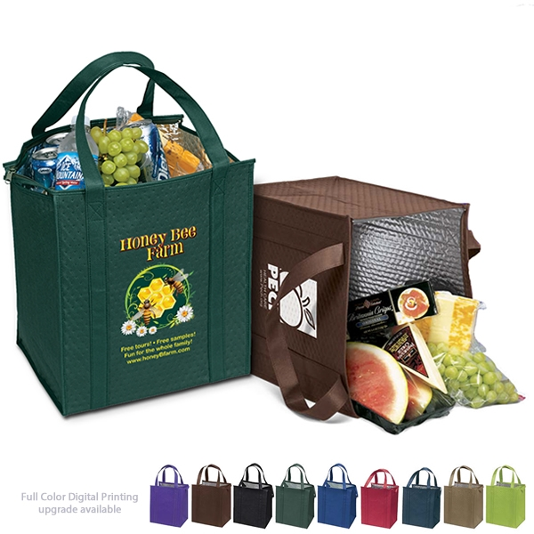 thermotote insulated cooler grocery bag