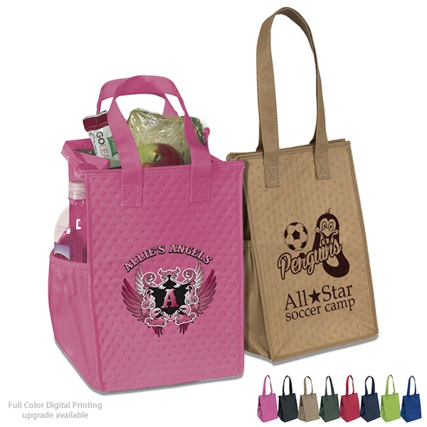 Promotional Therm-O-Snack Cooler Tote Bag  39AC812  a9302e4be839d