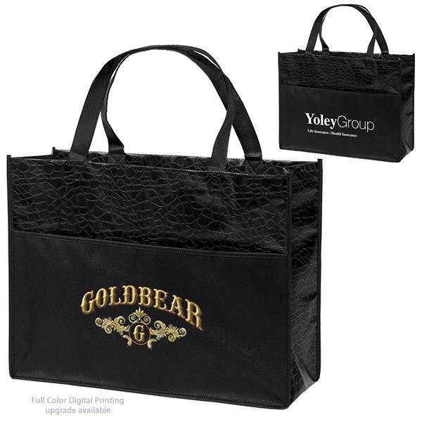 promotional couture laminated tote bag 39lpbks1612. Black Bedroom Furniture Sets. Home Design Ideas