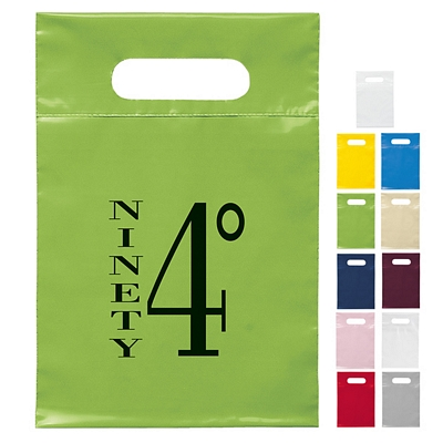 Promotional 7x10 Die Cut Handle Shopping Bag