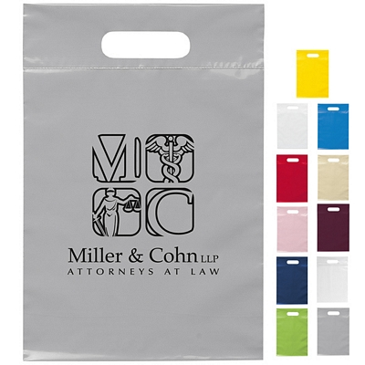 Customized 9.5x14 Die Cut Handle Shopping Bag