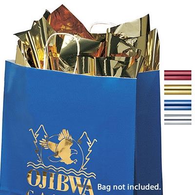 Customized Metallic Packaging Tissue Paper - 100 Sheet Pack