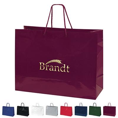 Promotional 16x12 Tiara Gloss Eurotote Shopper Paper Bag