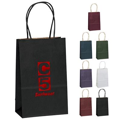 Customized 5x8 Toto Matte Paper Shopper Tote Bag