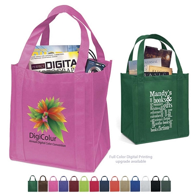 Promotional Little Thunder 12x13x8 NonWoven Shopping Tote Bag